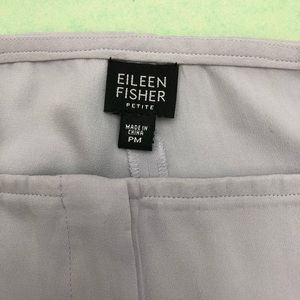 Eileen Fisher silk pant PM